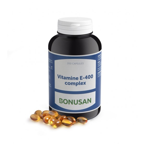 Vitamine E-400 complex Bonusan 60caps
