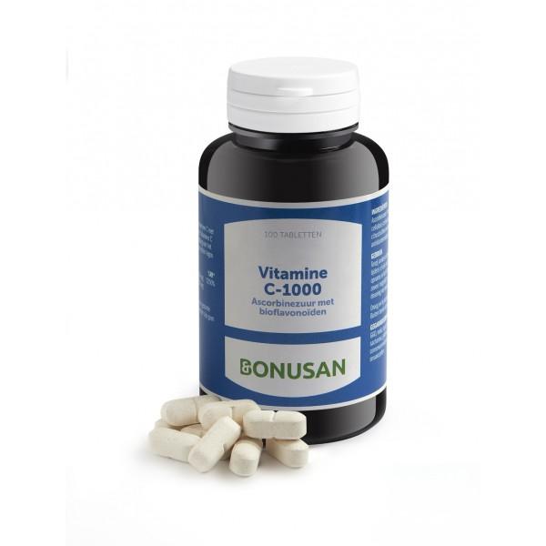 Vitamine C-1000 ascorbinezuur Bonusan