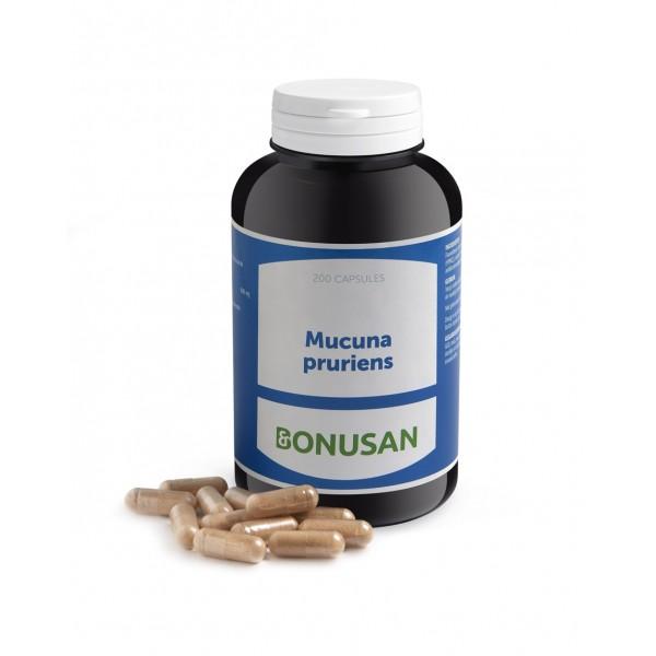 Bonusan Mucuna Pruriens Capsules 400mg 200vc