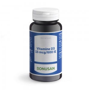 Vitamine D3 Bonusan 15mcg