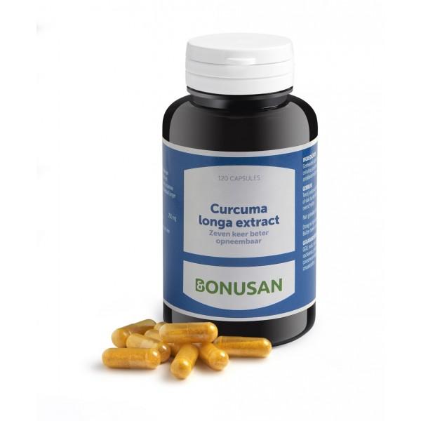 Bonusan Curcuma longa extract 120vc