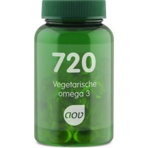 720 Vegetarische omega-3 AOV