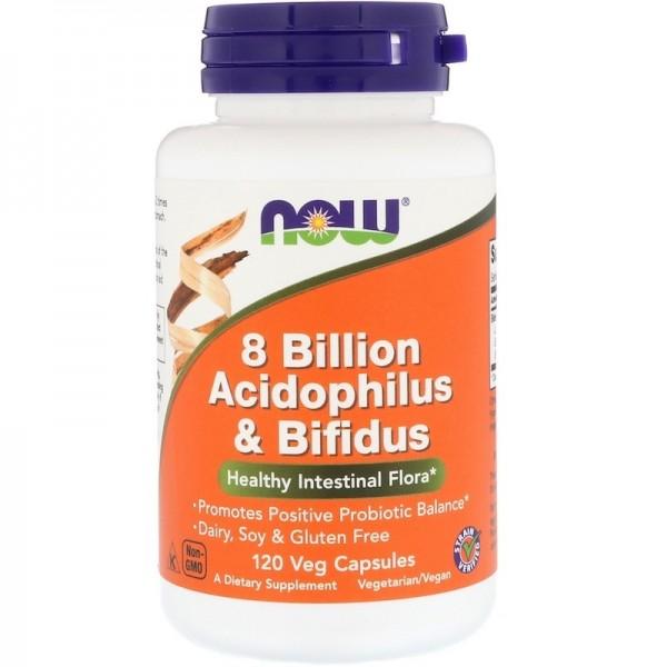 8 Billion Acidophilus NOW 60caps