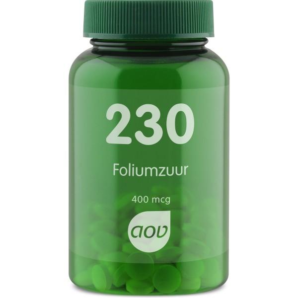 AOV 230 Foliumzuur 400mcg1
