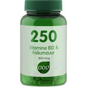 AOV 250 Vitamine-B12 & Foliumzuur 1
