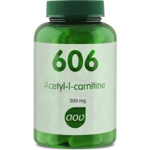 AOV 606 Acetyl L-Carnitine 500mg 90vcap