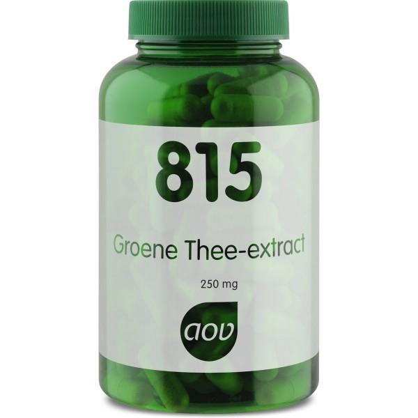 AOV 815 Groene thee1
