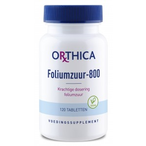 Orthica Foliumzuur-800 120tab