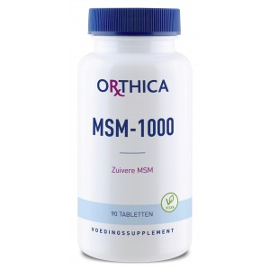 msm 1000 orthica