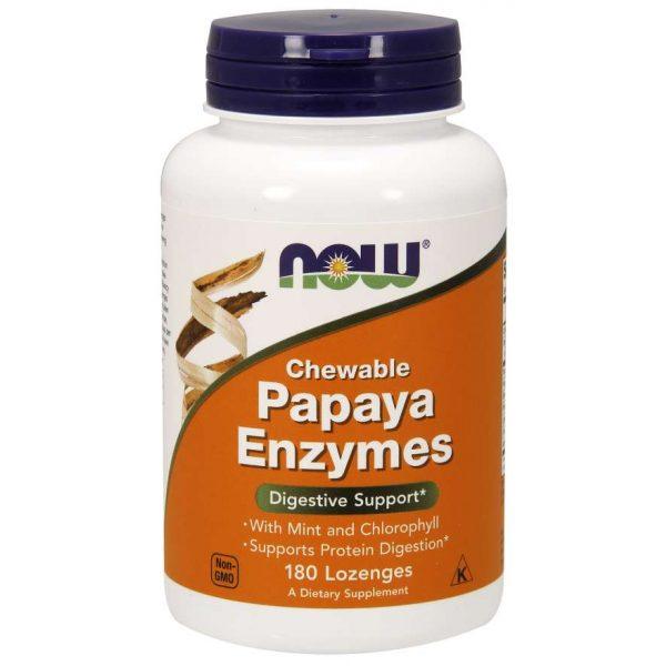 Papaya Enzymen NOW