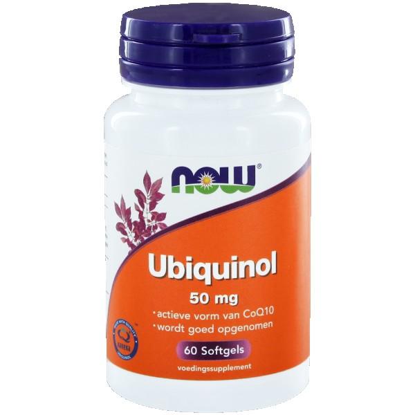 Ubiquinol CoQH-CF NOW 50mg