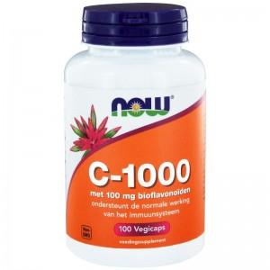 Vitamine C 1000 mg bioflavonoiden now