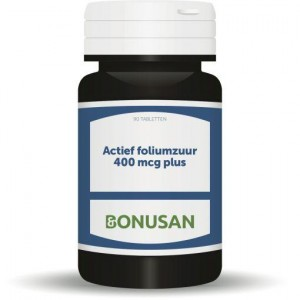 Foliumzuur Actief 400mcg Bonusan