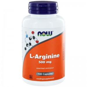 L-Arginine 500mg NOW 100cap