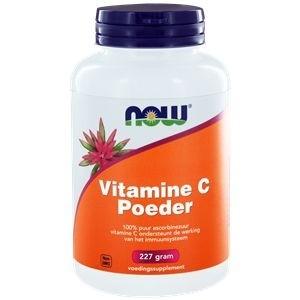 Vitamine C poeder ascorbinezuur NOW 227gr