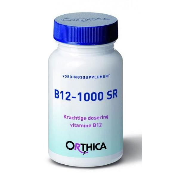Vitamine B12 1000 SR Orthica