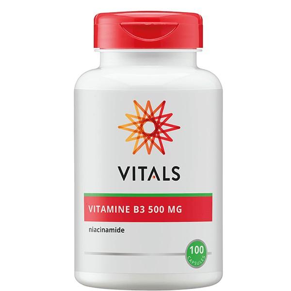 Vitamine B3 Vitals 500mg