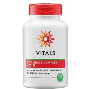 Vitamine B complex Actief Vitals 100cap
