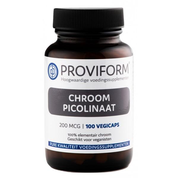 Chroom Picolinaat Proviform 200mcg 100cap