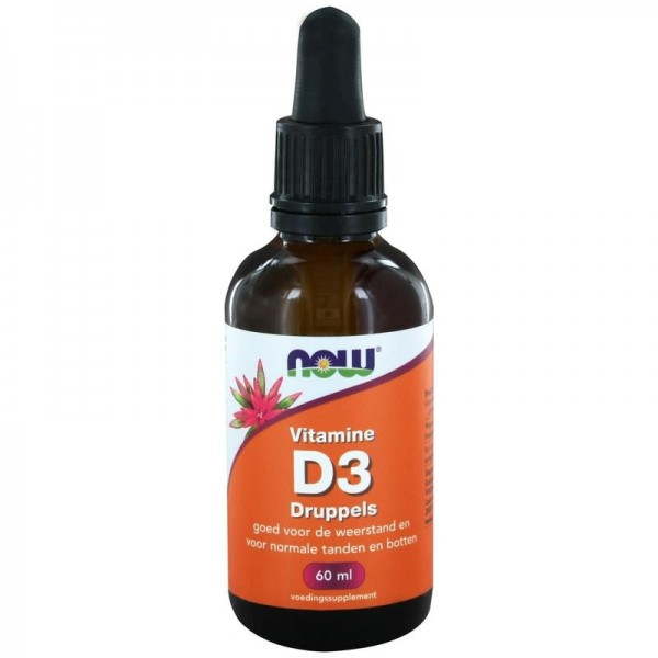 Vitamine D druppels NOW 60ml