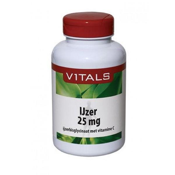 IJzer 25mg met vitamine C Vitals