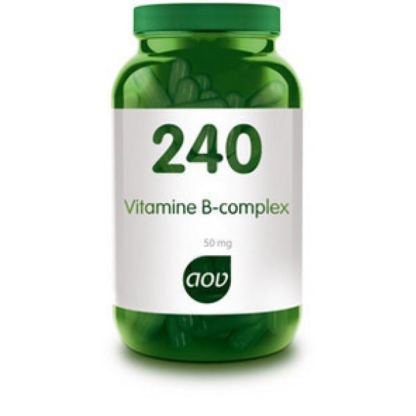 240 Vitamine B 50 mg Complex AOV