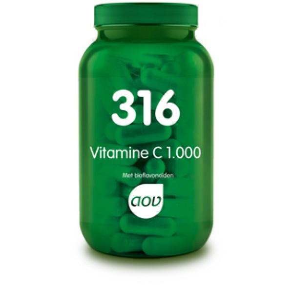 316 Vitamine C 1000 mg/bioflav AOV