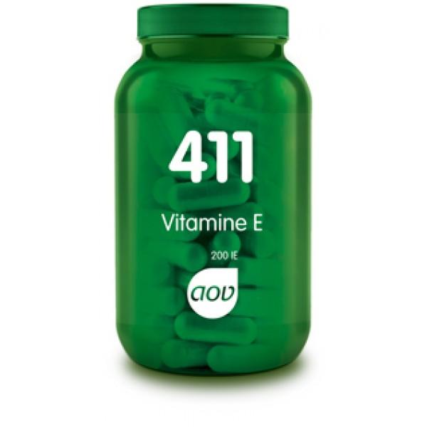 411 Vitamine E 200IE AOV