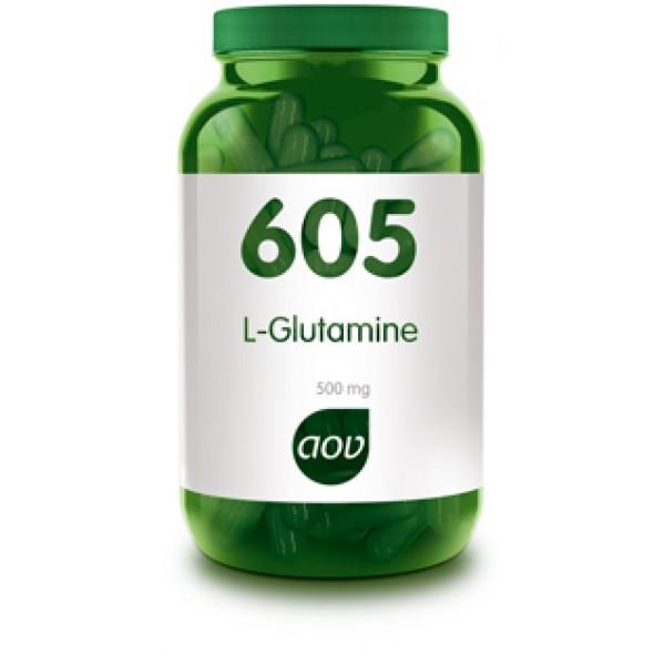 605 L-Glutamine 500 mg AOV
