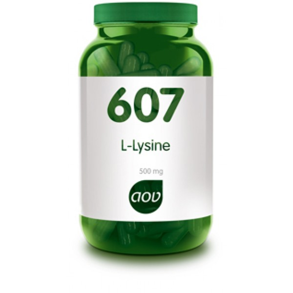 607 L-Lysine 500 mg AOV