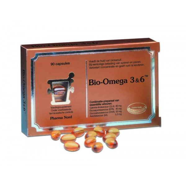 Bio-Omega 3&6™ Pharma Nord 90cap-0