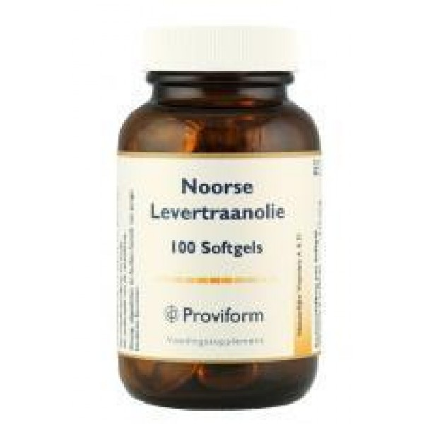 Noorse Levertraanolie Proviform 100sft-0