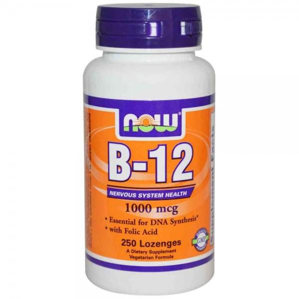 Vitamine B12 1000mcg NOW 250kt-0