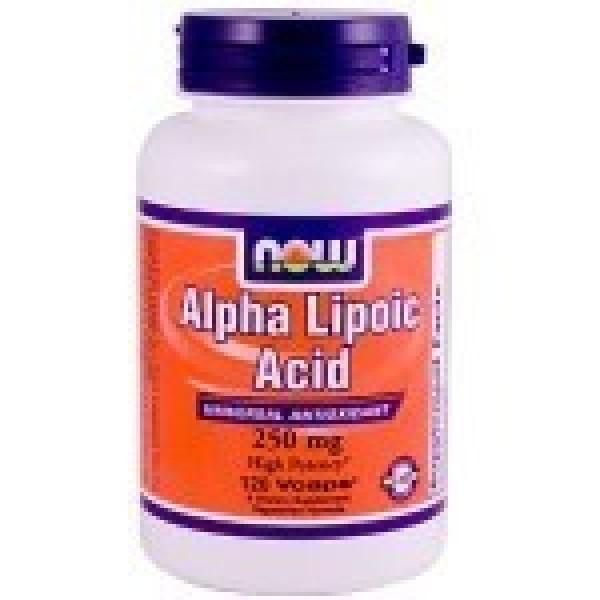Alpha Lipoic Acid 250mg NOW 120cap-0