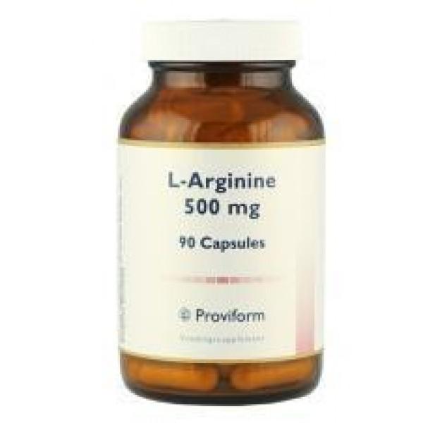 L-Arginine 500mg Proviform 90cap-0