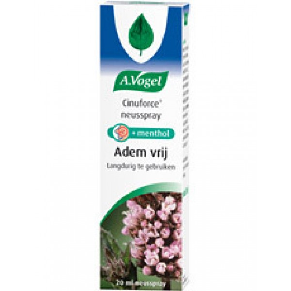 Cinuforce Mentholspray Vogel 20ml-0