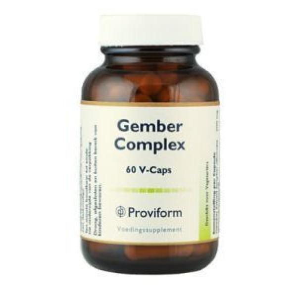 Gember Complex Proviform 60vcap-0