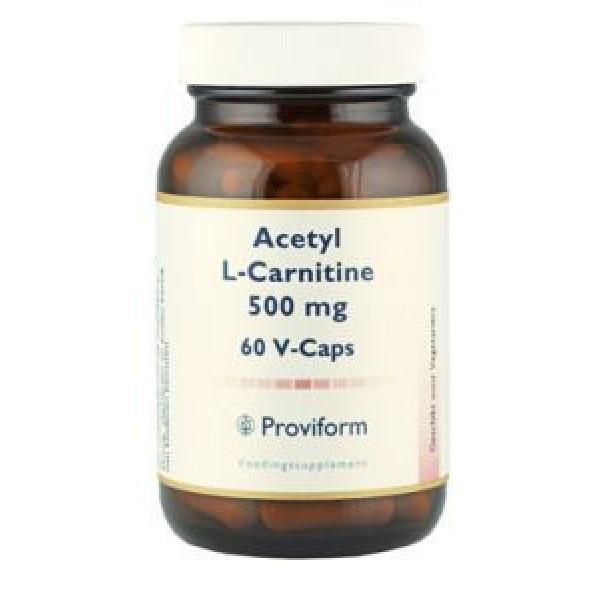 Acetyl l-carnitine Proviform 500mg 60vc-0