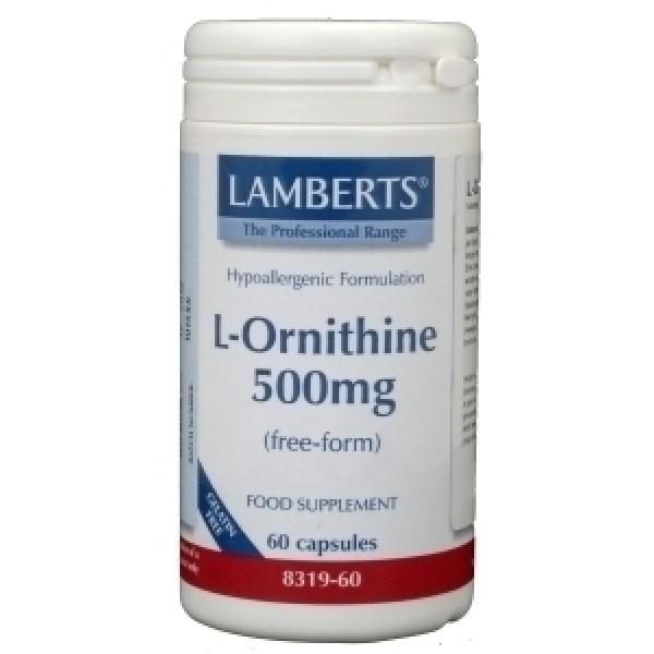 L Ornithine 500 mg Lamberts