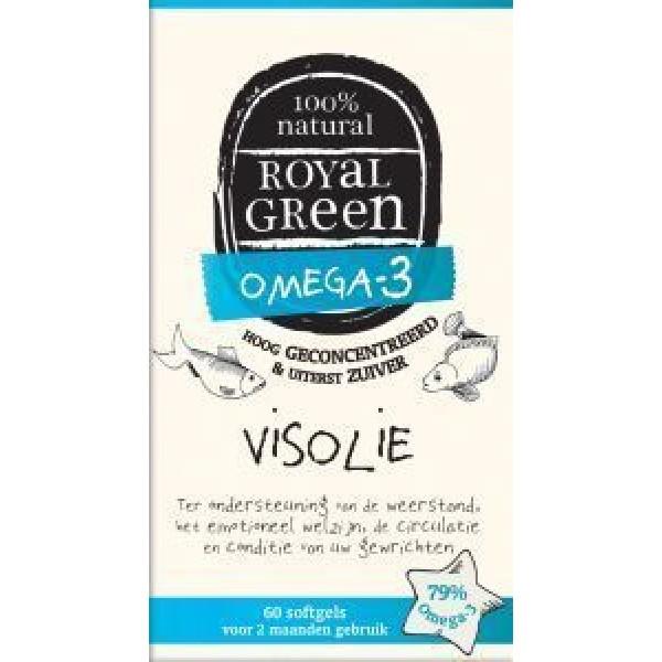 Royal Green Omega 3 Visolie 60sft-0
