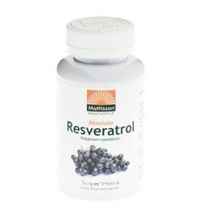 Absolute Resveratrol Mattisson 350mg 60v-0