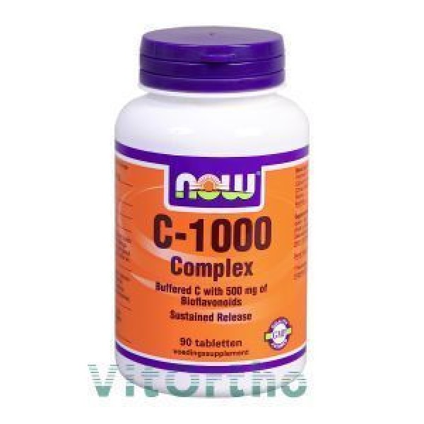 Vitamine C1000mg Complex NOW 90tab-0