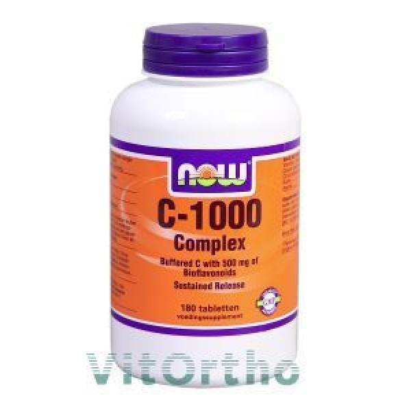 Vitamine C1000mg Complex NOW 180tab-0