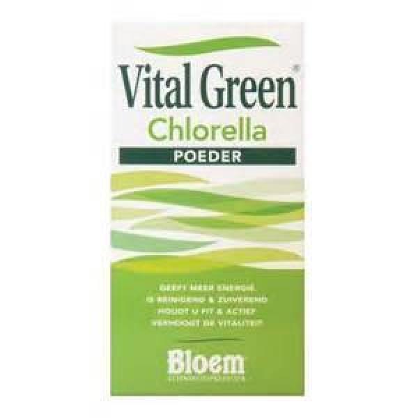 Vital Green Chlorella Bloem 1000tab-0