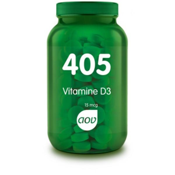 405 Vitamine d3 15mcg AOV