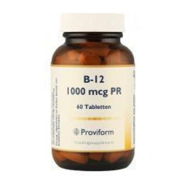 Vitamine B12 Proviform 1000mcg 60tab-0