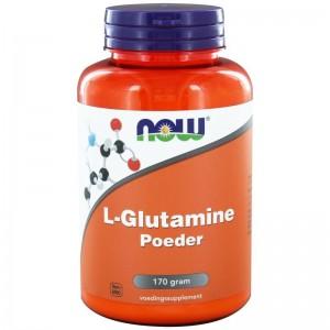 L Glutamine poeder NOW 170g
