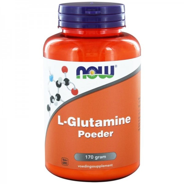 L Glutamine poeder NOW 170g