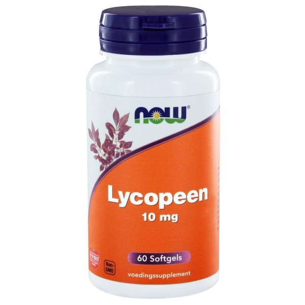Lycopene 10mg NOW 60sft