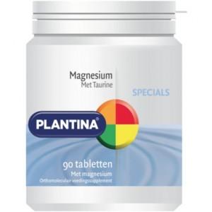 Plantina Magnesium met Taurin 90tab